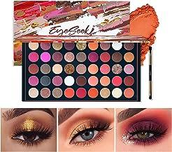EYESEEK Matte Eyeshadow Palette Makeup Brushes Set 45 Shades Shimmer Smoky Glitter Eyeshadow Pallet High Pigmented Metalli...