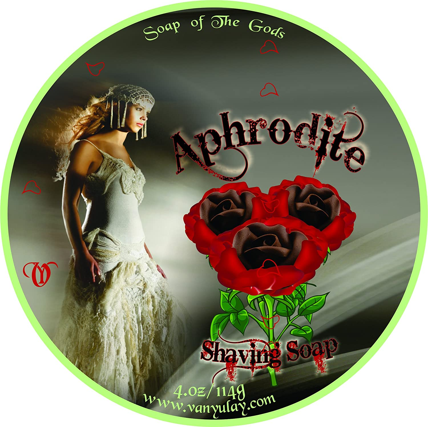 trust Aphrodite Natural Shaving Year-end gift Soap Moisturizing with Oil. Absynnian