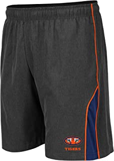Colosseum NCAA Mens Basketball Shorts - Athletic Running Workout Short-Charcoal with Team Colors
