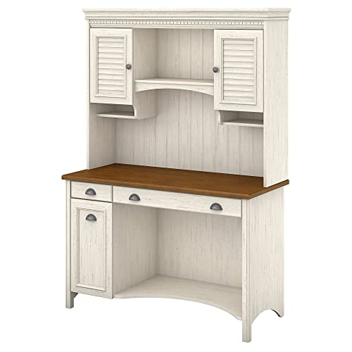 White Computer Desk with Hutch: Amazon.com