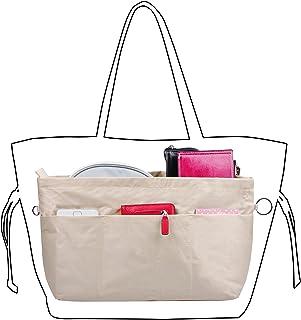 Vercord Handbag Purse Tote Pocketbook Organizer Insert Zipper Closure 11 Pockets