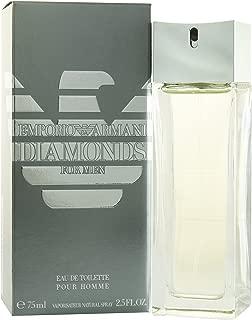 Emporio Armani Diamonds by Giorgio Armani for Men. Eau De Toilette Spray 2.5-Ounces