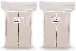 Japanese Organic Cotton Pads 100 pieces 100% Organic