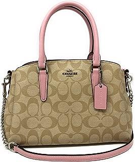 Signature Mini Sage Carryall Satchel Crossbody Handbag F29434