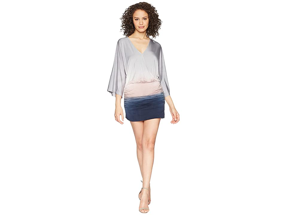 Young Fabulous & Broke Hara Dress (Light Grey Ombre) Women
