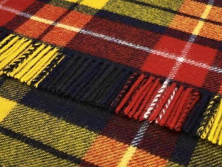Buchanan Kniedecke, Schottenkaro, Wolle, Highland Highland Highland Tweeds B00H59QYT0   Mittlere Kosten  10124c