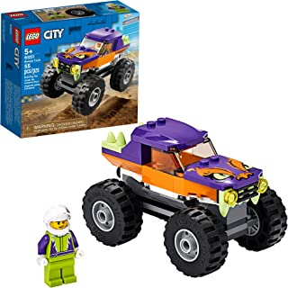 LEGO City Monster Truck 60251 Playset, LEGO Building Sets for Kids, New 2020 (55 Pieces)