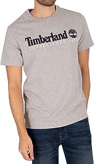 Timberland mens Outdoor Heritage Linear Logo Tee (Regular) T-Shirt