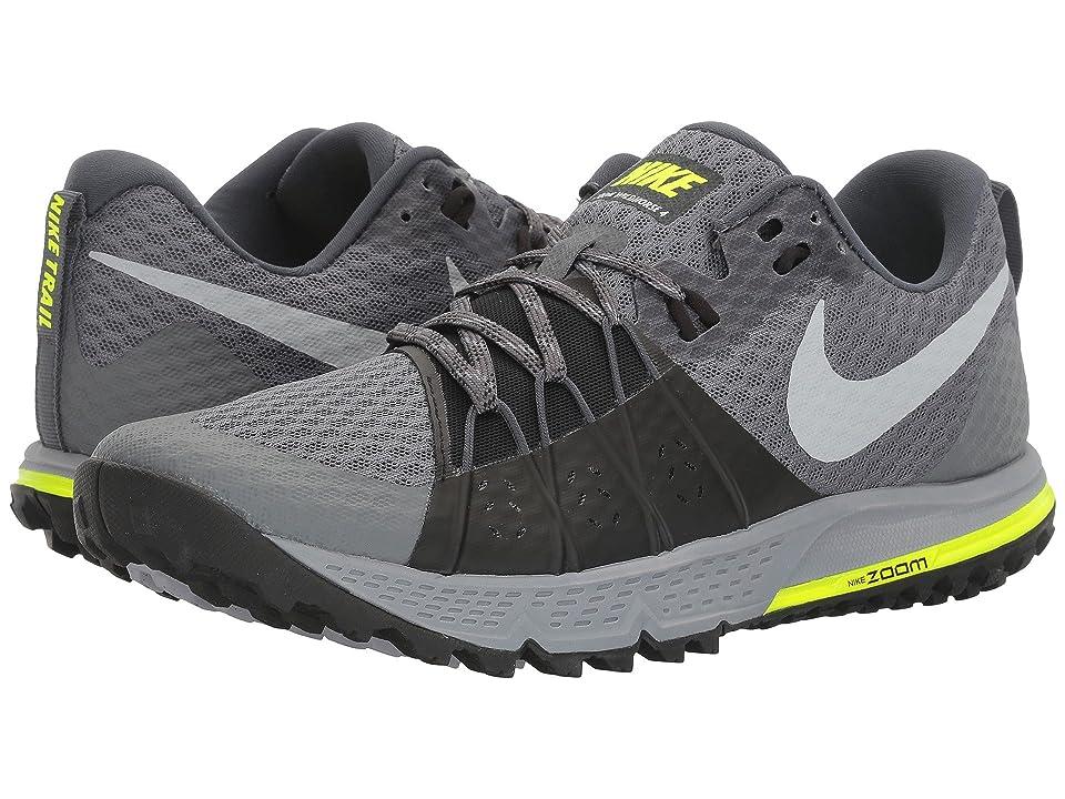 Nike Air Zoom Wildhorse 4 (Dark Grey/Wolf Grey/Black/Stealth) Men