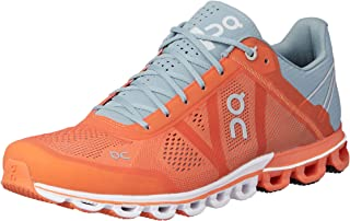 ON Men's Cloudflow Running Shoes, Orange/Glacier, 9.5 AU