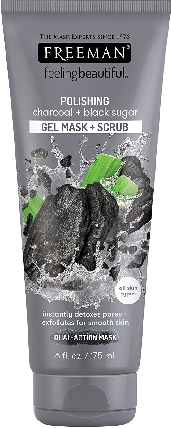 FREEMAN Polishing Charocal Black Sugar Gel Mask
