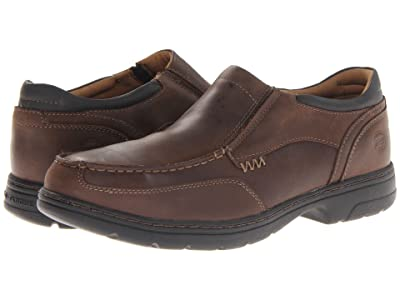 Timberland PRO Branston ESD Safety Toe Slip On (Brown) Men