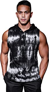 Alpha Brothers Sleeveless Gym Hoodie - Men's Bodybuilding Muscle Training Workout Hoodie