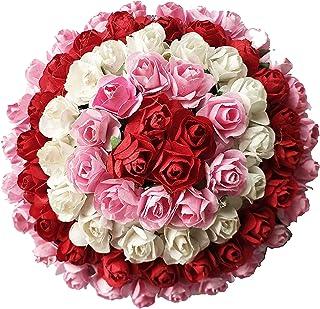 Wedding Flowers 25 Red Diamante Crystal Headed Heart Pins Buy 2 Sets Get 1 Free