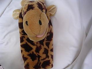 "Hand Puppet Giraffe 12"" Plush Toy Collectible"
