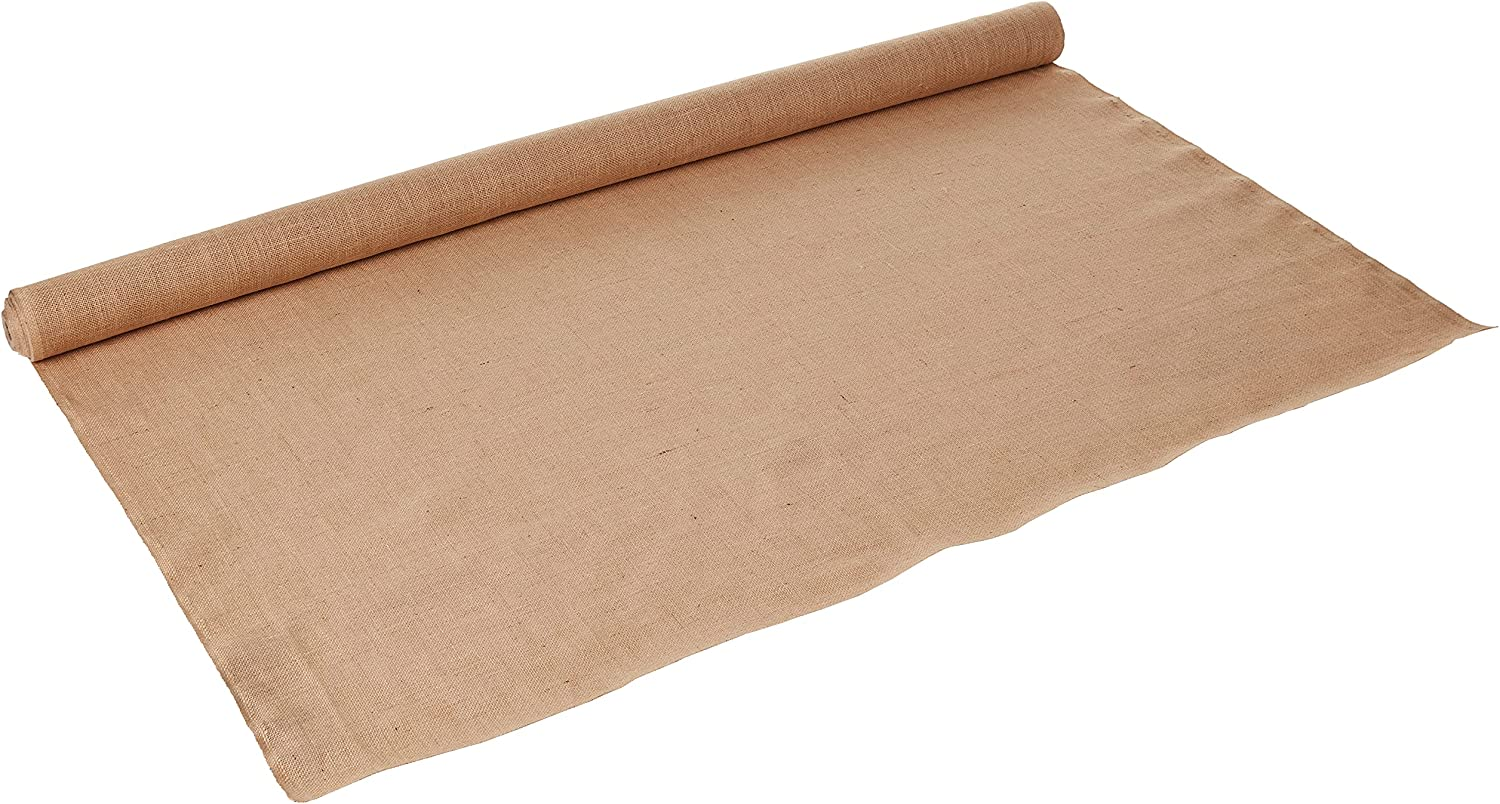 Complete Free Shipping Genuine LA Linen 60-Inch Wide Natural Roll Burlap 100 Yard