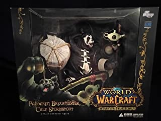 World Of Warcraft Action Figures DC Unlimited Deluxe Collector Figure Pandaren Brewmaster Panda Man Action Figure WOW New In Unopened Box