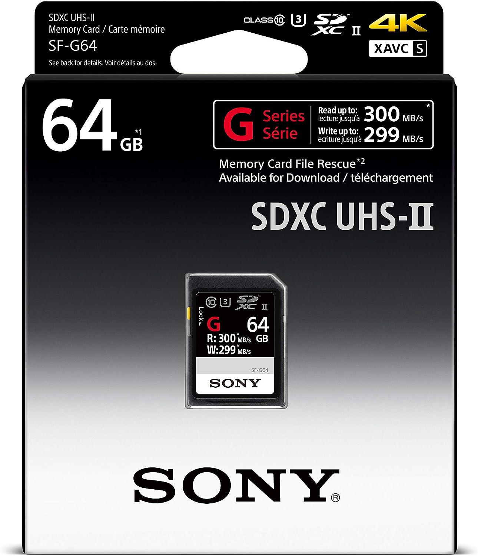 Sony 128gb Uhs Ii Sd Speicherkarte Sdxc Klasse 10 Computer Zubehör