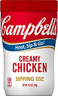 Campbell's Soup on the Go, Creamy Chicken, 10.9 Ounce