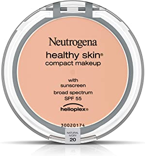 Neutrogena Healthy Skin Compact Makeup Foundation, Broad Spectrum Spf 55, Natural Ivory 20,.35 Oz.