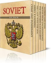 Soviet Six Pack – Crime and Punishment, Anna Karenina, The Lady with the Dog, Brothers Karamazov, Notes from Underground and Fathers and Sons (Illustrated)