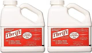 THRIFT T-600 Alkaline Based 6 lb. Granular Drain Cleaner (2-(Pack))