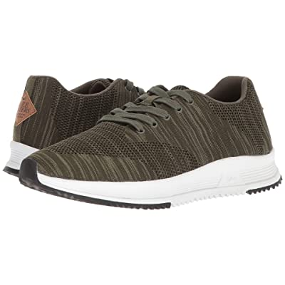 Freewaters Tall Boy Trainer Knit (Olive) Men