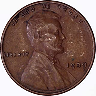 1939-S  LINCOLN WHEAT CENT #4