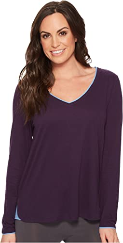 Jockey - Long Sleeve V-Neck Top