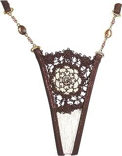 burgundy  thong jewellery details 8-12 UK sizing choice of sizes