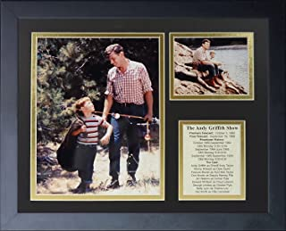 Legends Never Die Andy Griffith Gone Fishin' Framed Photo Collage, 11x14-Inch