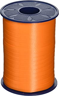 Morex Poly Crimped Curling Ribbon, 3/16-Inch by 500-Yard, Orange, 500-Yard, 1-Pack