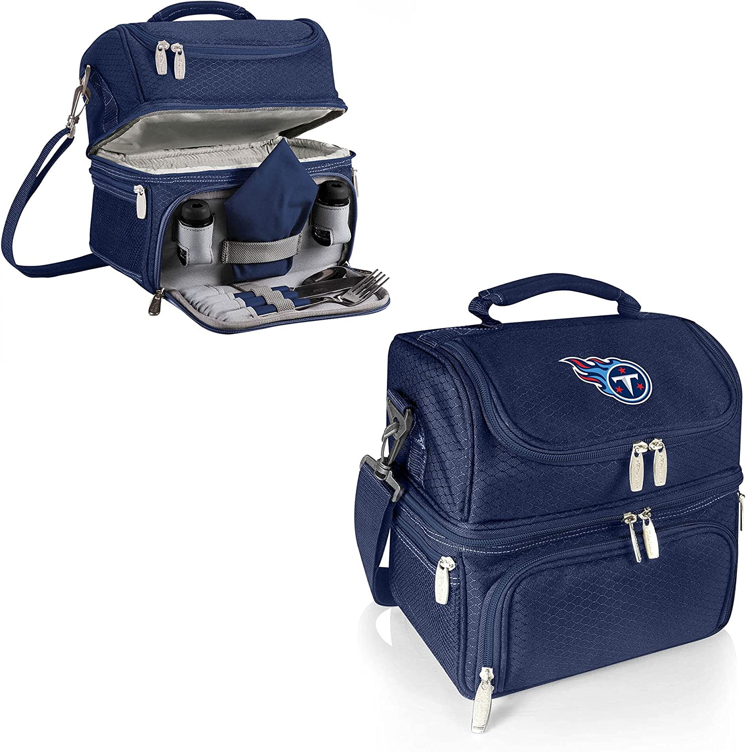 PICNIC Now on sale TIME Red Tennessee Titans Cash special price Pranzo Lunch Tote