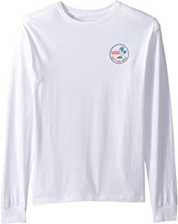Vans Kids Mini Dual Palm Long Sleeve T-Shirt (Big Kids)