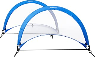 AmazonBasics Pop Up Goal, - 2.5ft, 4ft and 6ft Size Sets