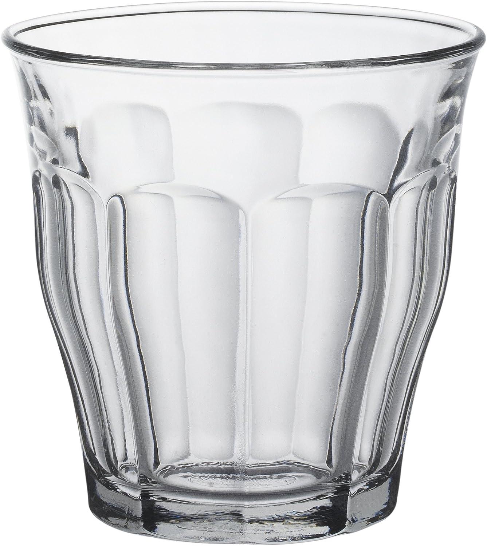 Duralex 1027AC04 Picardie - Set de 4 Vasos de Cristal (25 cl)