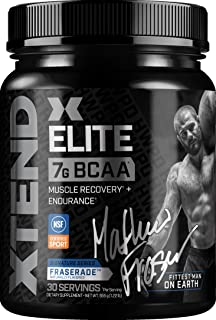 XTEND Elite BCAA Powder Fraserade | Sugar Free Post Workout Muscle Recovery Drink with Amino Acids | 7g BCAAs for Men & Wo...