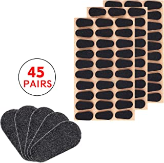 45 Pairs Soft Foam Nose Pads Self Adhesive Eyeglass Nose Pads Anti-Slip Eyeglass Nose Pads Thin Nosepads for Glasses Eyeglasses Sunglasses, 2.5 mm Thickness (Style 1)