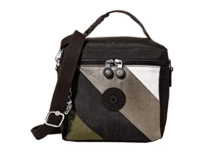 Kipling Graham (Black Mix Block) Cross Body Handbags