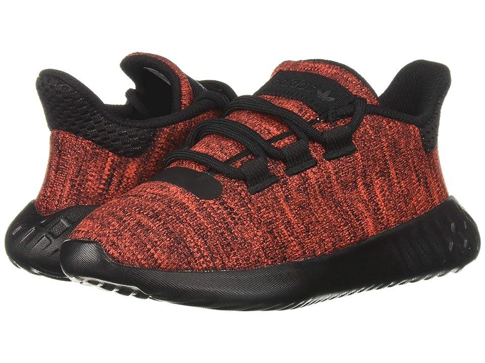 adidas Originals Kids Tubluar Dusk C (Little Kid) (Active Red/Black) Kids Shoes