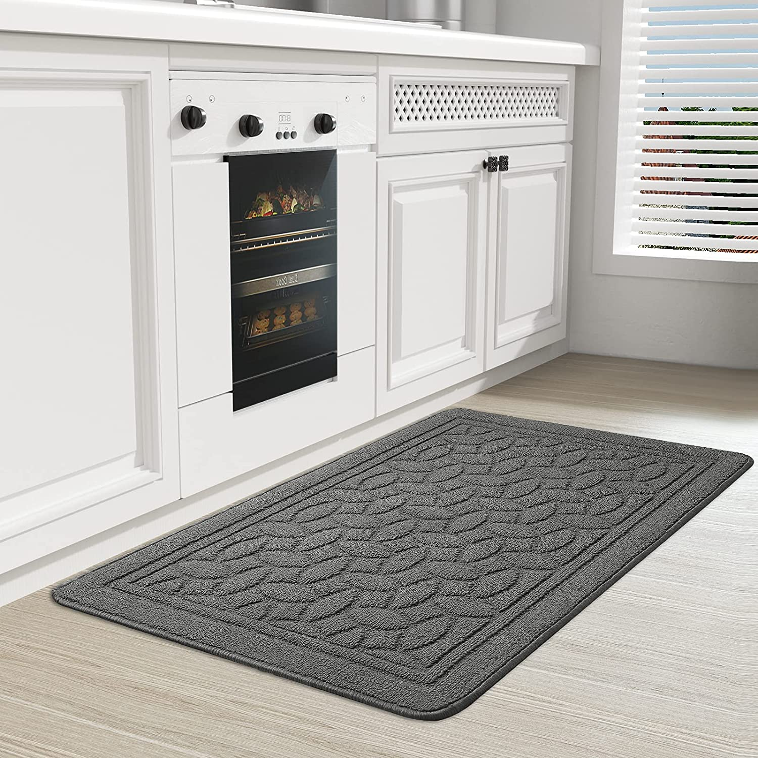 ColorGeometry Kitchen Mat Non-Skid and sold out Rugs In stock Mats Machin