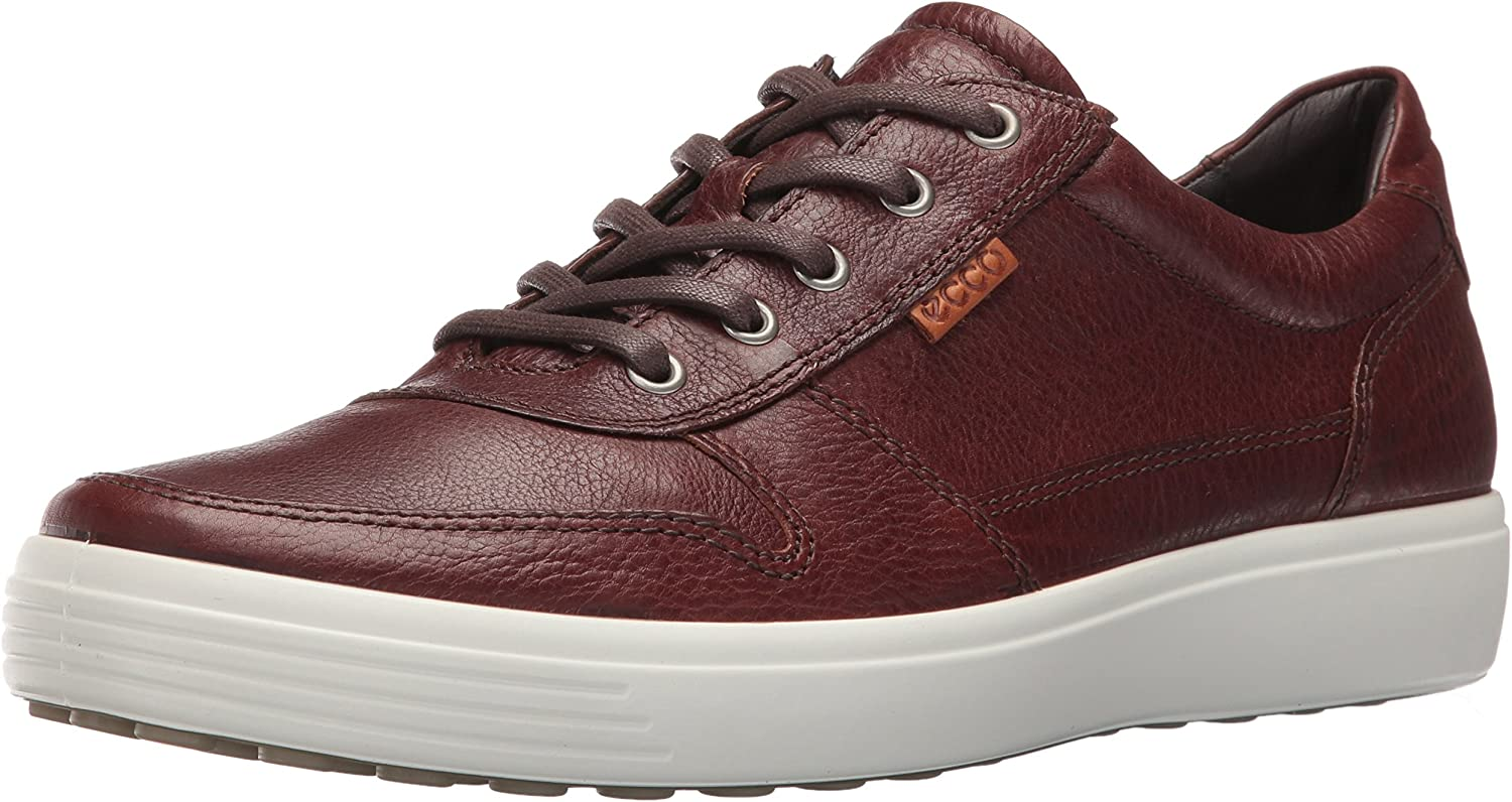 ECCO Men's Soft 7 Fashion Turnschuhe, Whisky Lion, 44 EU 10-10.5 M US