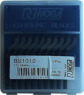 10pcs Noga Bs1010 S10 Swivel Blades Deburring Tool