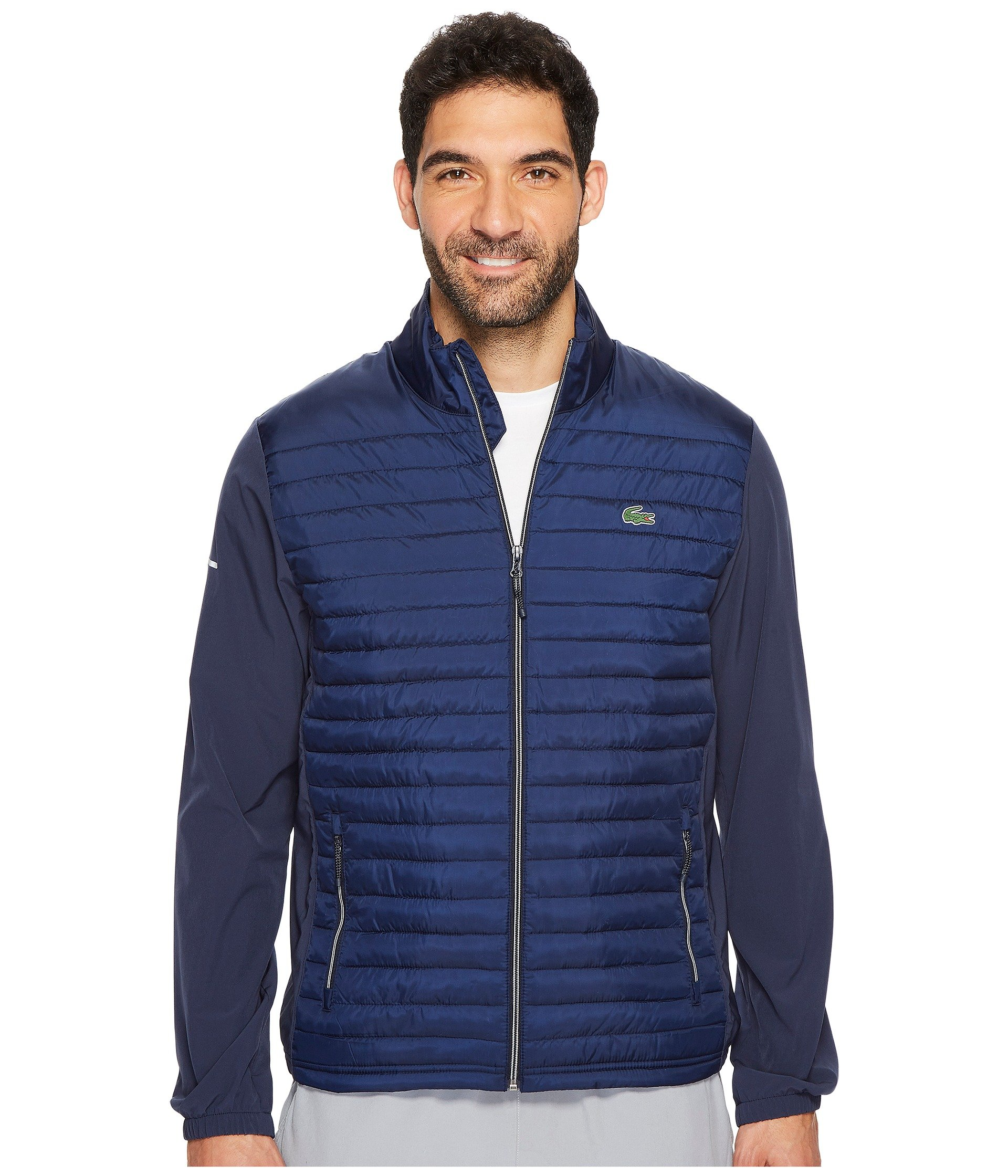 7c802e23 LACOSTE SPORT GOLF QUILTED JACKET, NAVY BLUE/NAVY BLUE | ModeSens