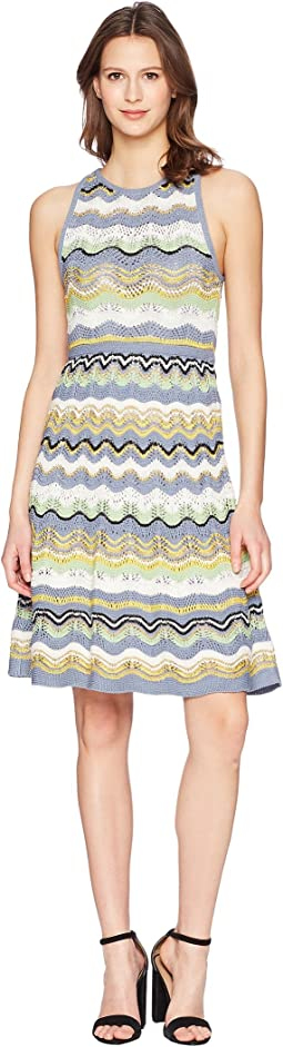 M Missoni Wave Crochet Dress