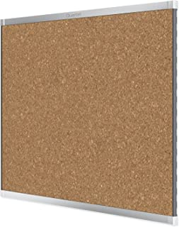 Quartet Prestige 2 Magnetic Cork Bulletin Board, 8' x 4', Silver Finish Aluminum Frame (MC248AP2)