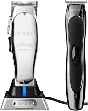 Andis Cordless Lithium Ion Master Clipper #12470 & Andis Slimline Ion Pro Lithium Trimmer