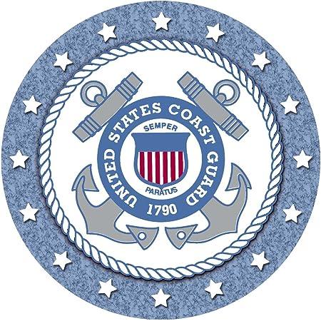 Set of 2 Car Coaster Coast Guard