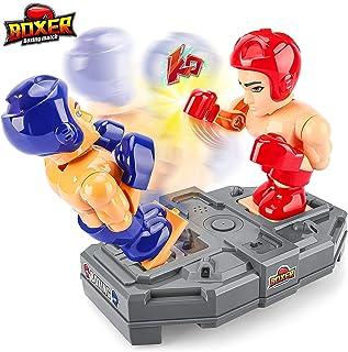 Baztoy Batallas Robot Juguete, Robotica Robot para Niños con Función de Sensor de Infrarrojos y Voz, Boxeo Robot Juguetes ...