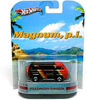 VOLKSWAGEN SUNAGON / MAGNUM, P.I. Hot Wheels 2012 Retro Series Die Cast Vehicle